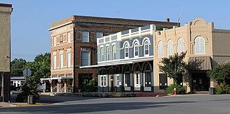 Lockhart, Texas - A view of downtown Lockhart