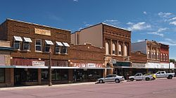Shops in downtown Windom