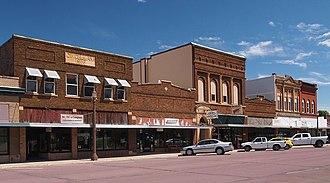 Windom, Minnesota - Shops in downtown Windom