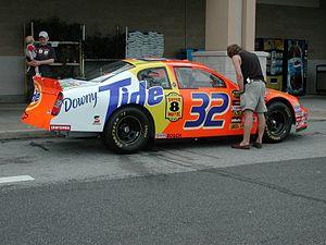 PPI Motorsports - The No. 32 Tide-sponsored car in 2005