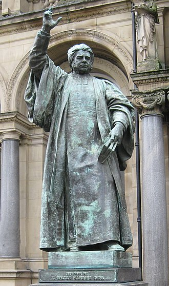 Walter Hook - Statue in Leeds City Square