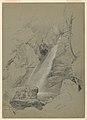 Drawing, Bash-Bish Falls, South Egremont, Massachusetts, July 18, 1859 (CH 18565965).jpg