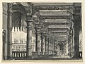 Drawing, Stage Design, Loggia with Fountain in an Oriental Palace, 1828 (CH 18359229).jpg