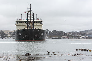 Dredge Yaquina, Corps of Engineers in Morro Bay, CA.jpg
