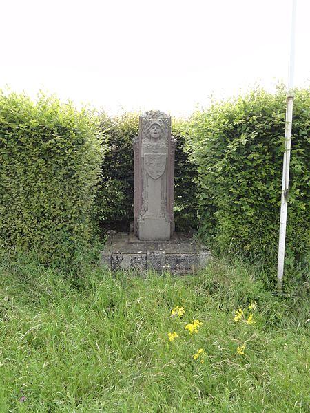 Drouville (M et M) mémorial 156 RI , 1914