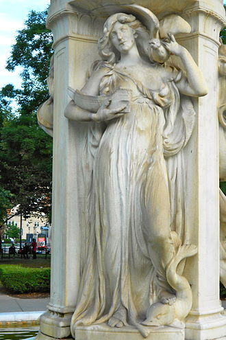 Dupont Circle Fountain - Image: Du Pont Fountain figure 3