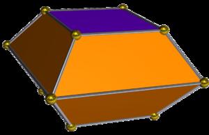 Square bifrustum - Square bifrustum