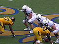 Ducks on offense at Oregon at Cal 11-1-08 2.JPG