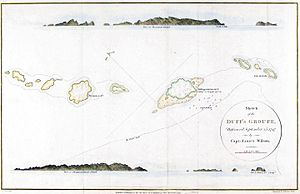Duff Islands - Map of 1799