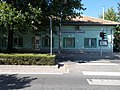 Dunaharaszti külső, station building, street side, 2019 Dunaharaszti.jpg