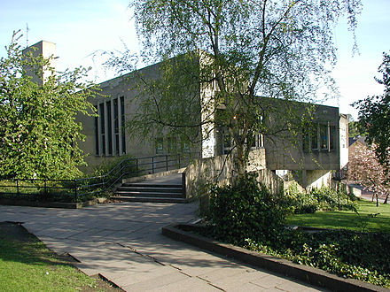 Dunelm House, home of the Durham Students' Union Dunelm3.jpg