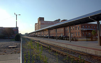 Durham station (North Carolina) - Image: Durhamstationchester fieldfls