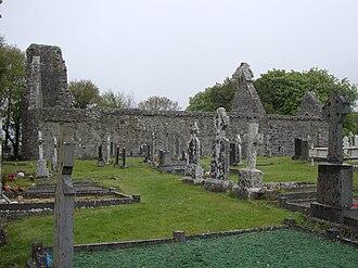 Dysart and Ruan - Image: Dysert O Dea Monastery
