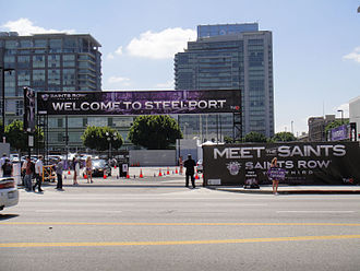 Saints Row: The Third - Promotional car wash event at E3 2011
