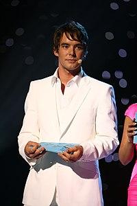 ESC 2007 - Mikko Leppilampi presenting the semifinal.jpg