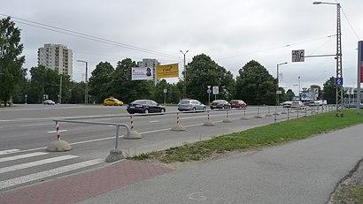 Kuidas ühistranspordiga sihtpunkti Haabersti Ring jõuda - kohast