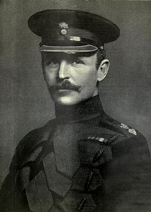 Rudolph Lambart, 10th Earl of Cavan - Lord Cavan as a young officer