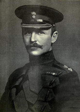 Rudolph Lambart, 10th Earl of Cavan - Lord Cavan as a young officer