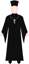 Eastern Orthodox Priest - vestments.svg