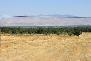 Lake Eber lake in Afyonkarahisar Province, Turkey
