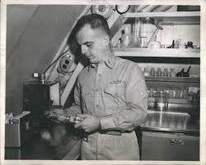 John H. Ebersole - Ebersole aboard the Seawolf.