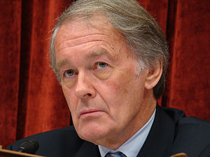 English: Rep. Ed Markey (D-MA) chairs the Ener...