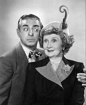 Billie Burke - Burke joined the cast of Eddie Cantor's radio show in 1948