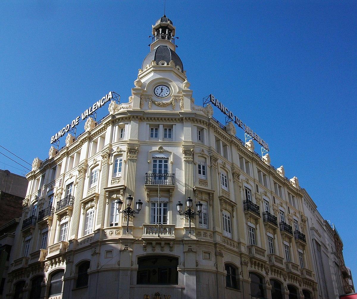 Edificio Del Banco De Castell N Wikipedia La
