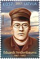 Eduards Veidenbaums 2017 stamp of Latvia.jpg