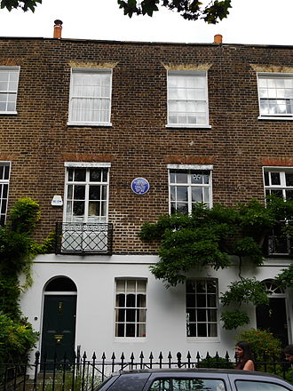 Ugo Foscolo - 19 Edwardes Square, London W8