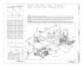 Eglin Air Force Base, Hangar No. 1, 505 Choctawhatchee Avenue, Valparaiso, Okaloosa County, FL HABS FLA,46-VALP,V,1A- (sheet 1 of 6).png