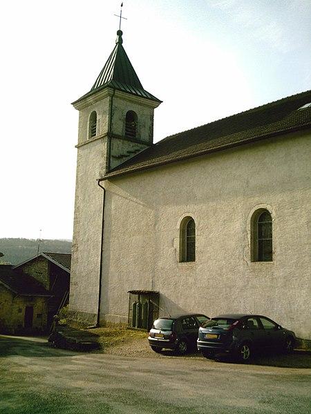 Eglise de Volognat