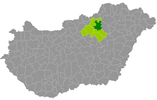 Eger District Districts of Hungary in Heves