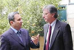 Ehud Barak and Dennis Ross.jpg