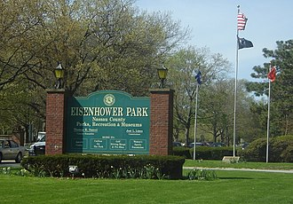 Eisenhower Park - Eisenhower Park Main Entrance