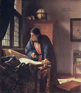 Image illustrative de l'article Le Géographe (Vermeer)