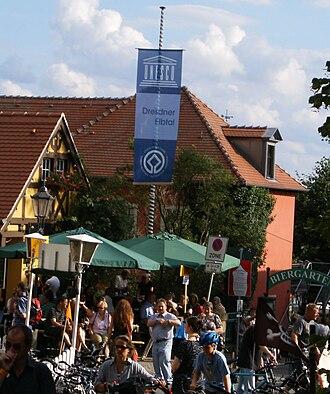 Elbhangfest - Elbhangfest 2008 in village Wachwitz (Dresden)