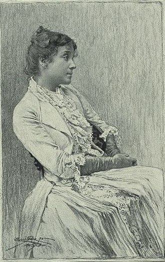 Eleonora Duse - Eleanora Duse, early in her acting career.