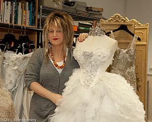 Elizabeth Emanuel - Elizabeth Emanuel at her Maida Vale studio in 2011