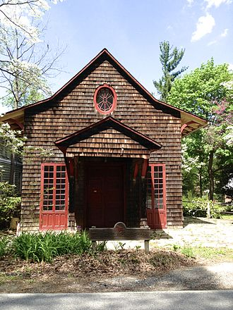 """Elkridge, Maryland - The Elkridge Assembly Rooms in Lawyers Hill was used as a """"neighborhood parlor"""" since the 1870s."""