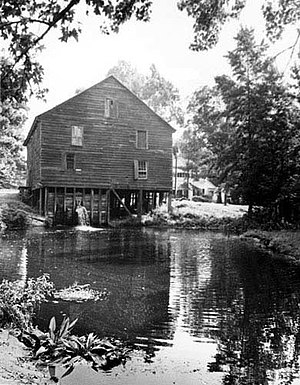 National Register of Historic Places listings in Sumter County, South Carolina - Image: Ellerbe's Mill South Facade