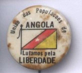 Angolan War of Independence - UPA badge