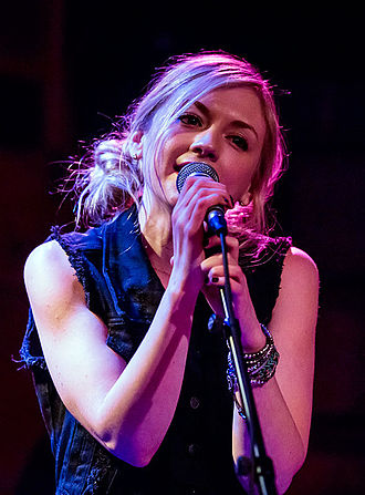 Emily Kinney - Kinney at Rockwood Music Hall in NYC in 2014