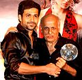 Emraan Hashmi and Mahesh Bhatt at OUATIM party.jpg