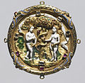 English - Hat Badge with the Fall of Man - Walters 44266.jpg