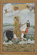 Equestrian Portrait of the Emperor Shah Jahan from the Kevorkian Album.jpg