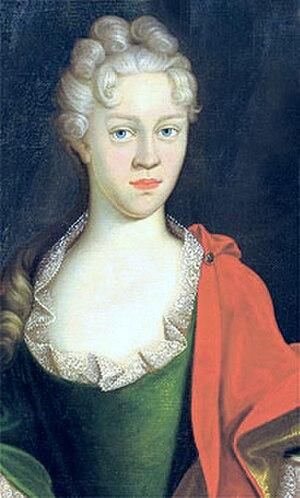 Erdmuthe Dorothea of Reuss-Ebersdorf - Erdmuthe Dorothea, Countess of Zinzendorf