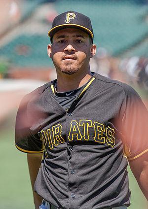 Ernesto Frieri - Frieri with the Pittsburgh Pirates