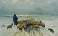 Ernst Adolph Meissner - Heimkehrende Schafherde - 6059 - Österreichische Galerie Belvedere.jpg