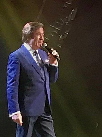 Erol Evgin - Evgin performing at the Bostancı Performing Arts Center, April 2017
